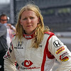 May 15: Pippa Mann during practice for the 97th Indianapolis 500 at the Indianapolis Motor Speedway