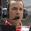 May 11: Helio Castroneves during practice for the 97th Indianapolis 500 at the Indianapolis Motor Speedway