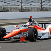 May 11: Tristan Vautier during practice for the 97th Indianapolis 500 at the Indianapolis Motor Speedway