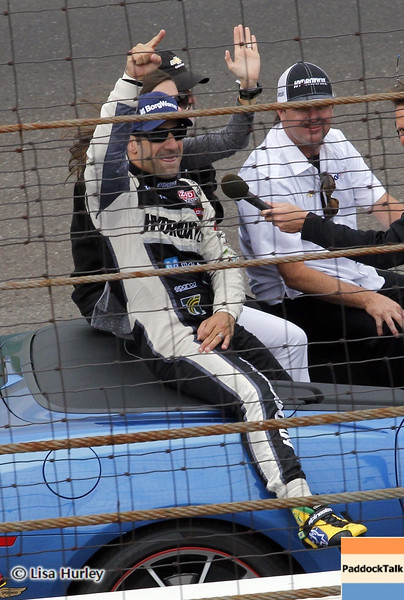 May 26: Tony Kanaan, the winner of the 97th running of the Indianapolis 500 Mile Race.