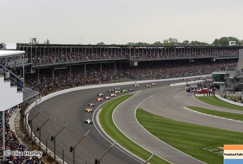 May 26: The start of the 97th running of the Indianapolis 500 Mile Race.