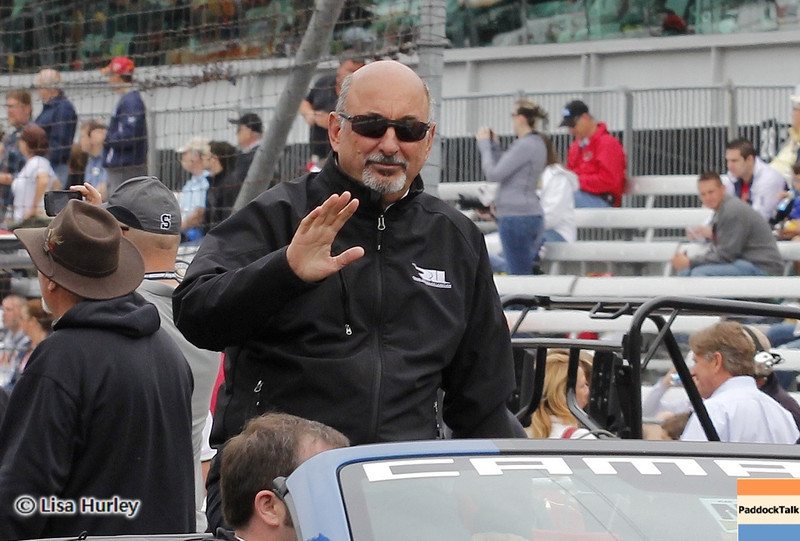 May 26: Bobby Rahal before the 97th running of the Indianapolis 500 Mile Race.