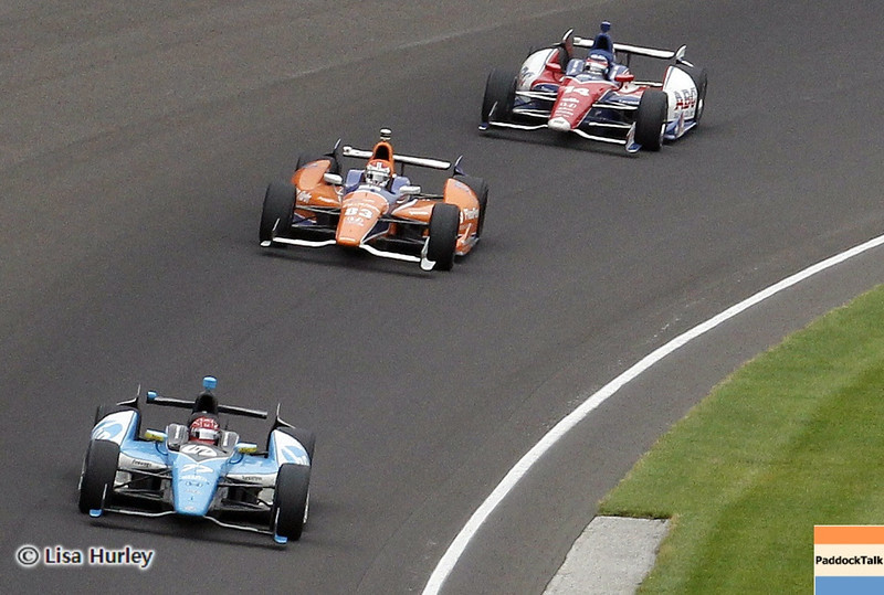 May 26: Track action during the 97th running of the Indianapolis 500 Mile Race.