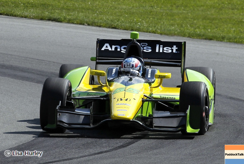 August 3: Tristan Vautier during qualifying at The Honda Indy 200 at Mid-Ohio.