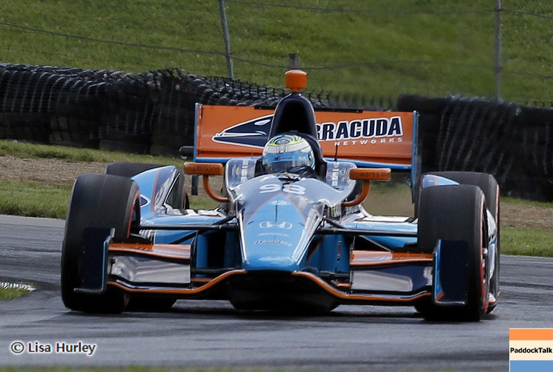 August 3: Luca Filippi during qualifying at The Honda Indy 200 at Mid-Ohio.