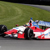 August 3: Justin Wilson during qualifying at The Honda Indy 200 at Mid-Ohio.