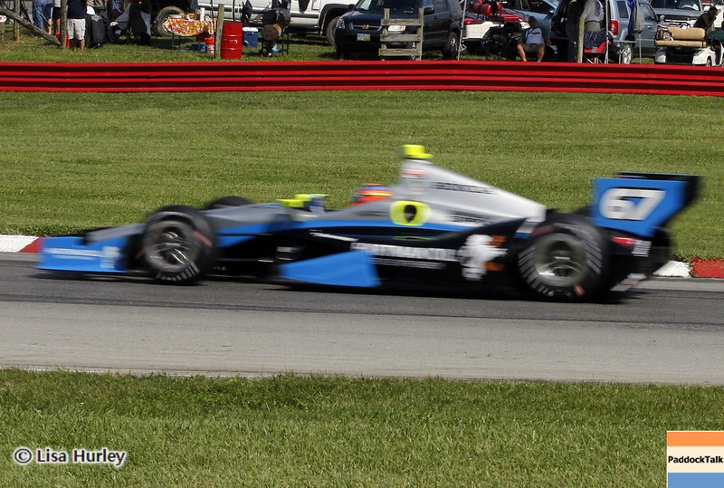 August 3: Josef Newgarden during qualifying at The Honda Indy 200 at Mid-Ohio.