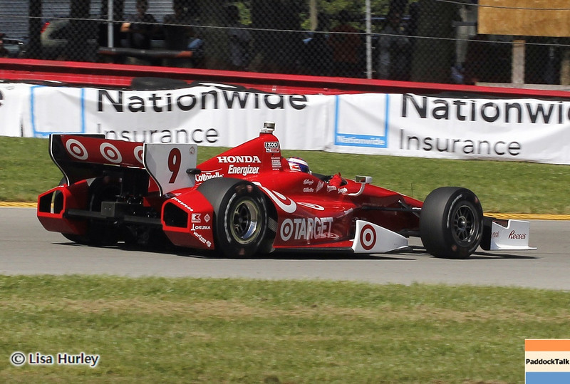 August 4: Scott Dixon during the race at The Honda Indy 200 at Mid-Ohio.