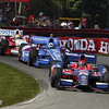 August 4: Track action during the race at The Honda Indy 200 at Mid-Ohio.
