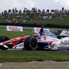 August 3: Takuma Sato during qualifying at The Honda Indy 200 at Mid-Ohio.