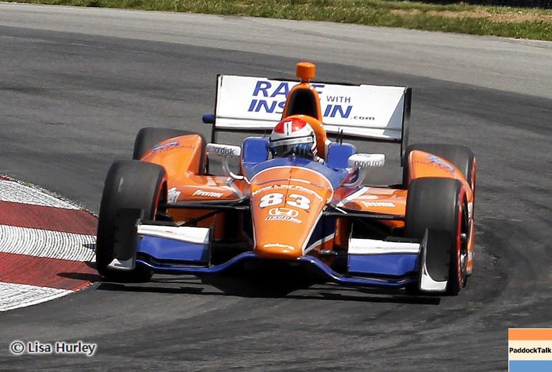 August 3: Charlie Kimball during qualifying at The Honda Indy 200 at Mid-Ohio.