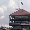 August 3: The tower during qualifying at The Honda Indy 200 at Mid-Ohio.