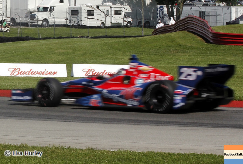 August 3: Marco Andretti during qualifying at The Honda Indy 200 at Mid-Ohio.
