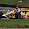 August 3: Ryan Hunter-Reay during qualifying at The Honda Indy 200 at Mid-Ohio.