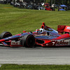 August 4: Sebastien Bourdais during the race at The Honda Indy 200 at Mid-Ohio.