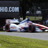 August 4: Takuma Sato during the race at The Honda Indy 200 at Mid-Ohio.