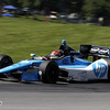 August 4: Simon Pagenaud during the race at The Honda Indy 200 at Mid-Ohio.