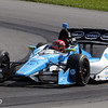 August 3: Simon Pagenaud during qualifying at The Honda Indy 200 at Mid-Ohio.