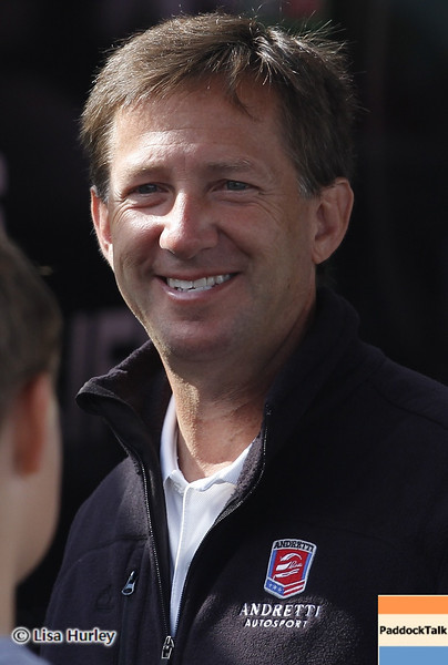 August 3: John Andretti during qualifying at The Honda Indy 200 at Mid-Ohio.