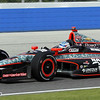 June 15: Ryan Briscoe during the Izod IndyCar race at the Milwaukee Mile.