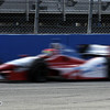 June 15: Justin Wilson during the Izod IndyCar race at the Milwaukee Mile.