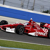 June 15: Scott Dixon during the Izod IndyCar race at the Milwaukee Mile.