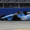 June 15: Simon Pagenaud during the Izod IndyCar race at the Milwaukee Mile.