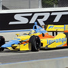June 15: Ana Beatriz during the Izod IndyCar race at the Milwaukee Mile.