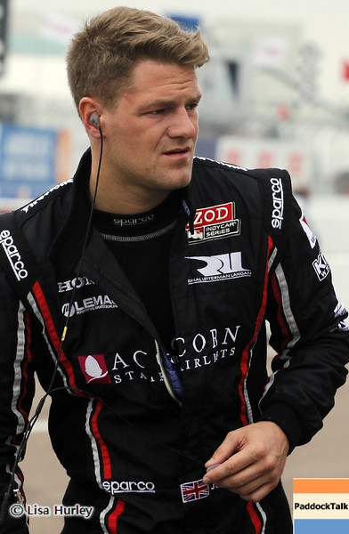 MARCH 23: James Jakes at IndyCar qualifying at the Honda Grand Prix of St. Petersburg