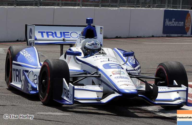 MARCH 23: Sebastian Saavedra at IndyCar qualifying at the Honda Grand Prix of St. Petersburg