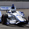 MARCH 23: Sebastian Saavedra at IndyCar qualifying at the Honda Grand Prix of St. Petersburg