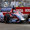 MARCH 24: Marco Andretti during the IndyCar race at the Honda Grand Prix of St. Petersburg