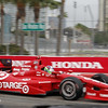 MARCH 23: Dario Franchitti at IndyCar qualifying at the Honda Grand Prix of St. Petersburg