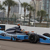 MARCH 22: Alex Tagliani at IndyCar practice at the Honda Grand Prix of St. Petersburg.