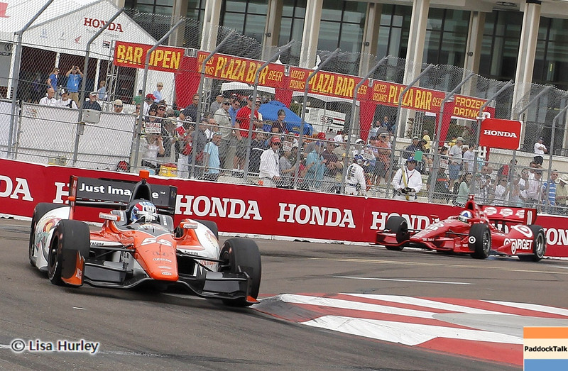 MARCH 23: Track action at IndyCar qualifying at the Honda Grand Prix of St. Petersburg