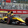 MARCH 24: Oriol Servia during the IndyCar race at the Honda Grand Prix of St. Petersburg