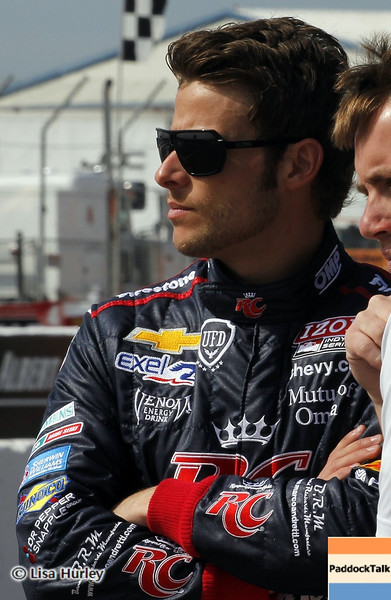 MARCH 22: Marco Andretti at IndyCar practice at the Honda Grand Prix of St. Petersburg.