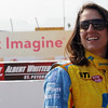MARCH 22: Ana Beatriz at IndyCar practice at the Honda Grand Prix of St. Petersburg.