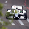 MARCH 22: Simona de Silvestro at IndyCar practice at the Honda Grand Prix of St. Petersburg.
