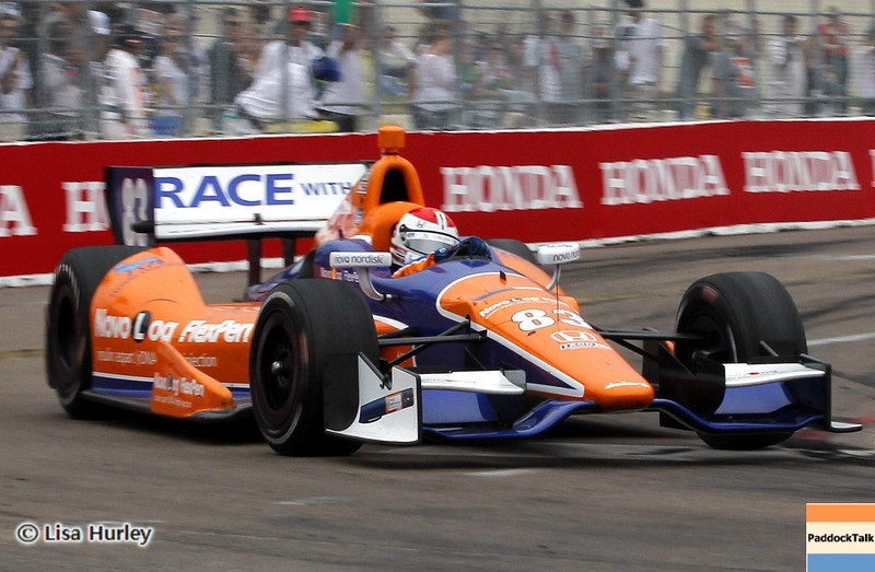 MARCH 24: Charlie Kimball during the IndyCar race at the Honda Grand Prix of St. Petersburg