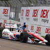 MARCH 22: Takuma Sato at IndyCar practice at the Honda Grand Prix of St. Petersburg.