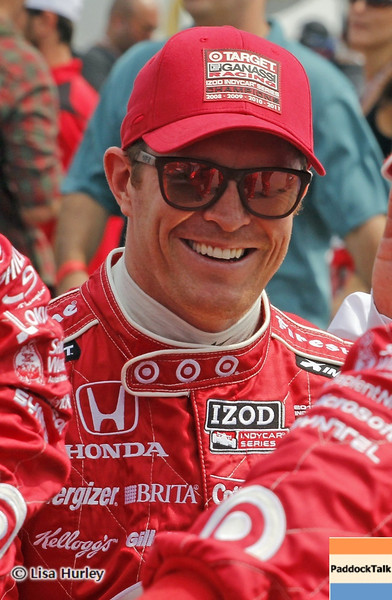 MARCH 24: Scott Dixon prerace at  the IndyCar race at the Honda Grand Prix of St. Petersburg