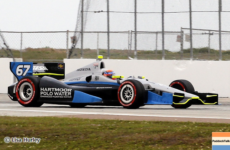 MARCH 24: Josef Newgarden during the IndyCar race at the Honda Grand Prix of St. Petersburg