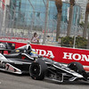 MARCH 23: Sebastien Bourdais at IndyCar qualifying at the Honda Grand Prix of St. Petersburg
