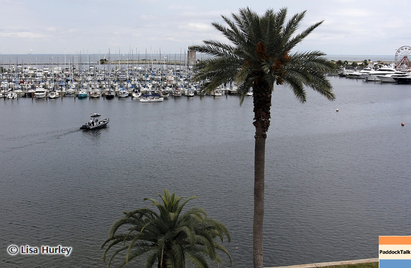 MARCH 22: Scenes from the bay at IndyCar practice at the Honda Grand Prix of St. Petersburg.