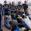 MARCH 24: Josef Newgarden team prerace at  the IndyCar race at the Honda Grand Prix of St. Petersburg