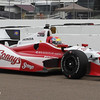 MARCH 22: Justin Wilson at IndyCar practice at the Honda Grand Prix of St. Petersburg.