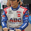 MARCH 23: Takuma Sato at IndyCar qualifying at the Honda Grand Prix of St. Petersburg