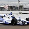 MARCH 22: Sebastian Saavedra at IndyCar practice at the Honda Grand Prix of St. Petersburg.