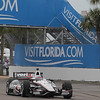 MARCH 22: Will Power at IndyCar practice at the Honda Grand Prix of St. Petersburg.